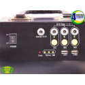 Solar LED Lighting, SOS Light, and Charging Portable Kit with Control Box - Switches and Plugs
